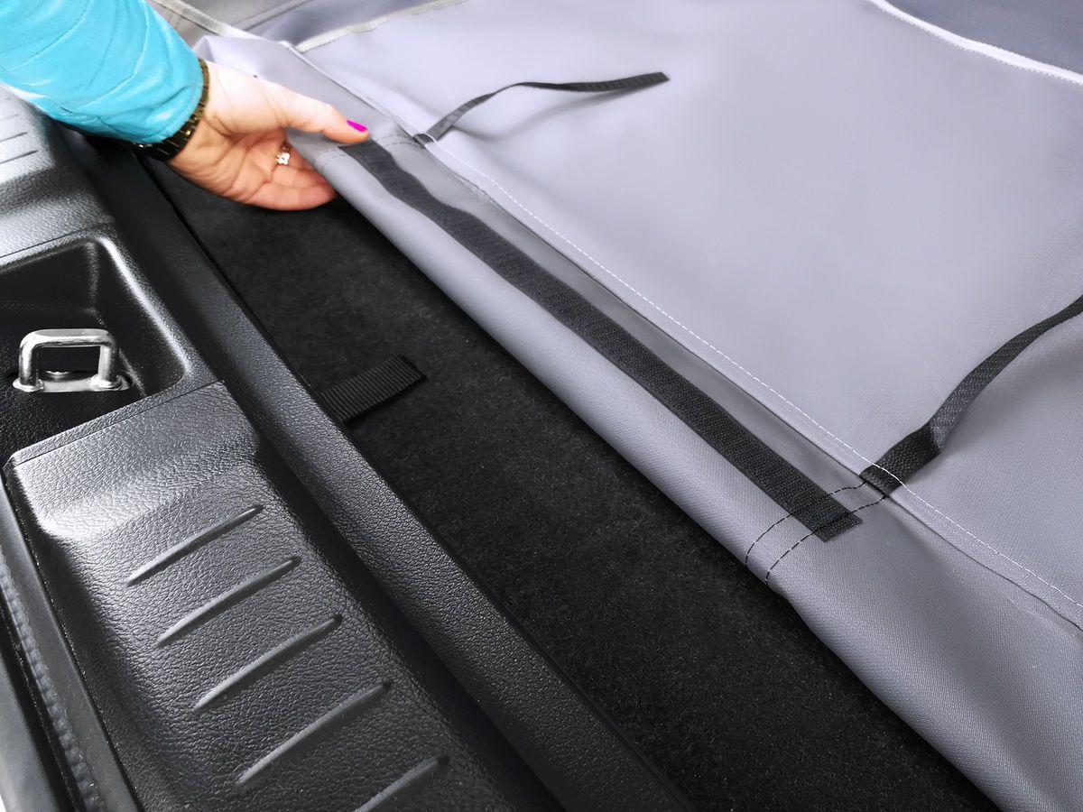 Mata samochodowa do bagażnika z nakładką - Kardibag Protect Plus