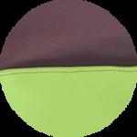 Brązowo - Zielony